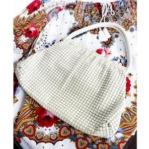 Vintage chain mesh handbag
